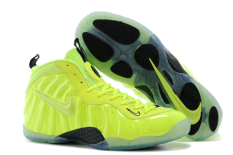 Nike Air Foamposite One Green Black Shoes