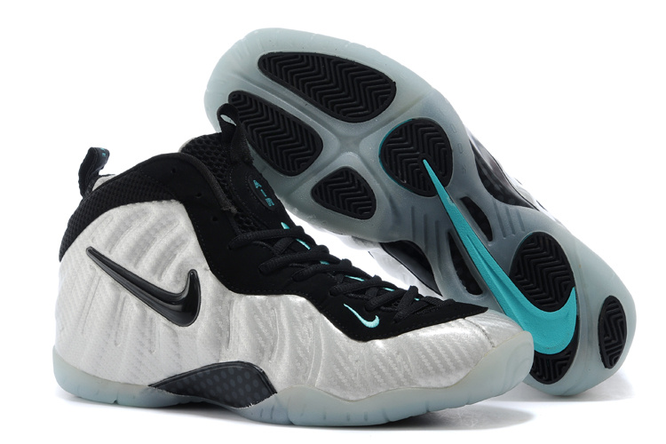 Nike Air Foamposite One White Black Shoes