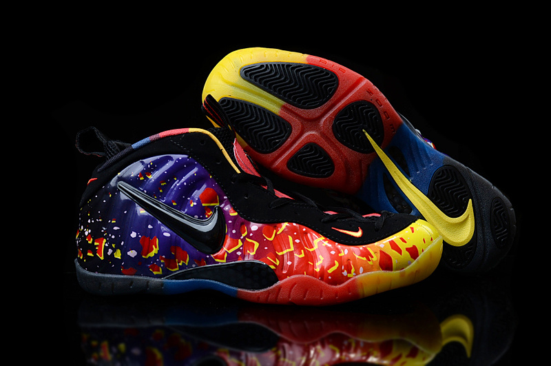 Nike Air Foamposite Penny Colorful Shoes