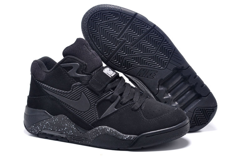 New Release Air Force 180 Barkley All Black Shoes