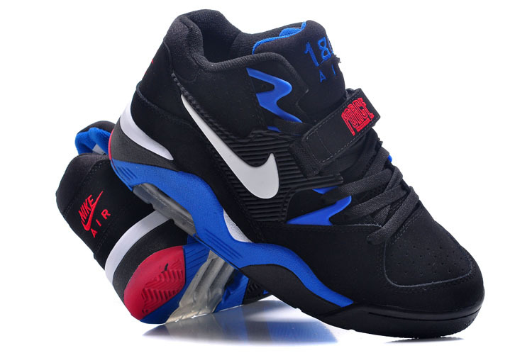 New Release Air Force 180 Barkley Black Blue Red Shoes
