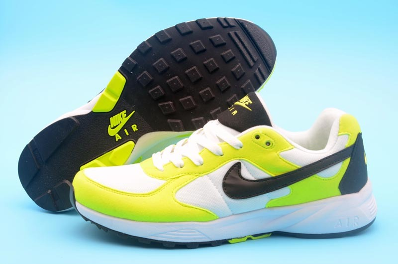 New Nike Air Icarus Fluorscent Green White Black