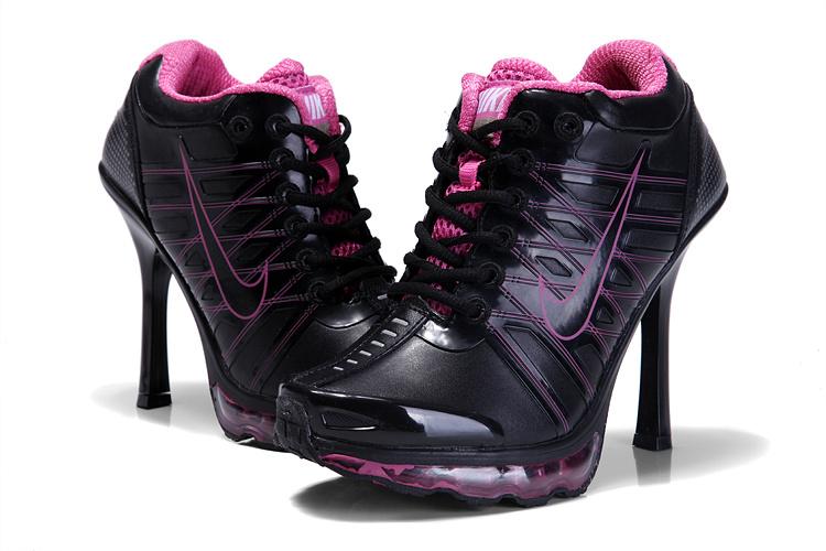 Nike Air Max 09 High HeelsBlack Pink