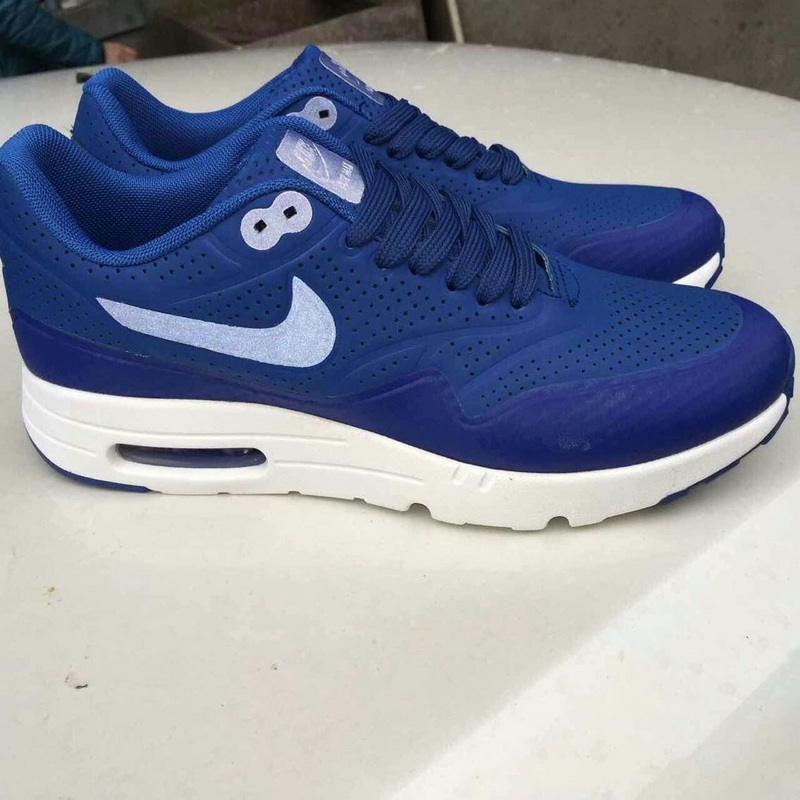 Nike Air Max 1 Ultra Moire Blue White Shoes
