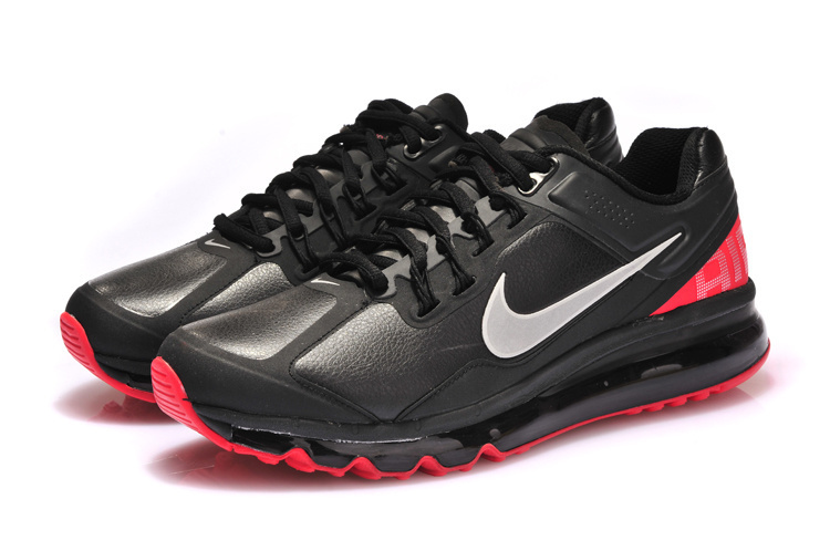 Nike Air Max 2013 Black Red Shoes