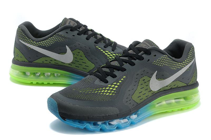 Nike Air Max 2014 Black Blue Green Shoes