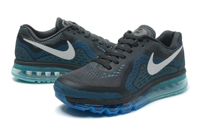 Nike Air Max 2014 Black Blue Grey Shoes