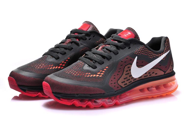 Nike Air Max 2014 Black Red White Shoes