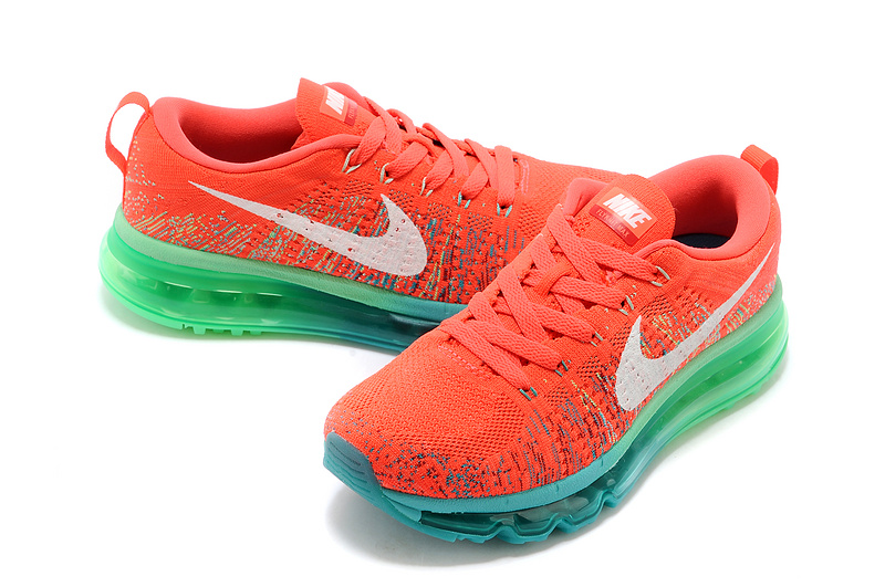 Nike Air Max 2014 Flyknit Red Blue