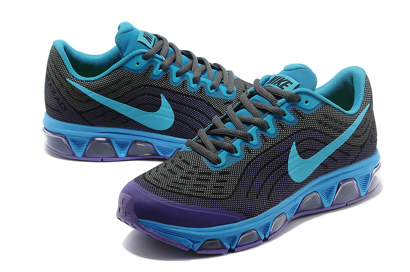 Nike Air Max 2015 Black Blue Purple Shoes