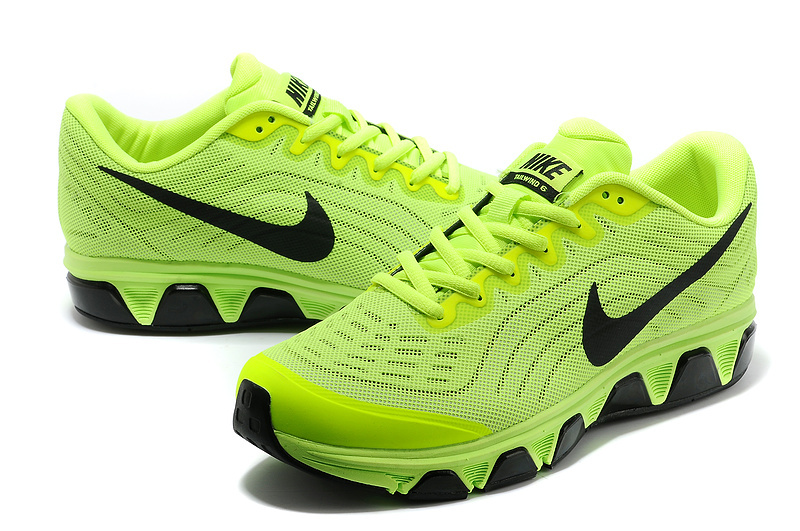 Nike Air Max 2015 Fluorescent Green Black Women Shoes