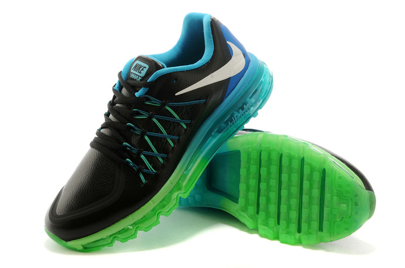 Nike Air Max 2015 Flyline Black Blue Green Shoes