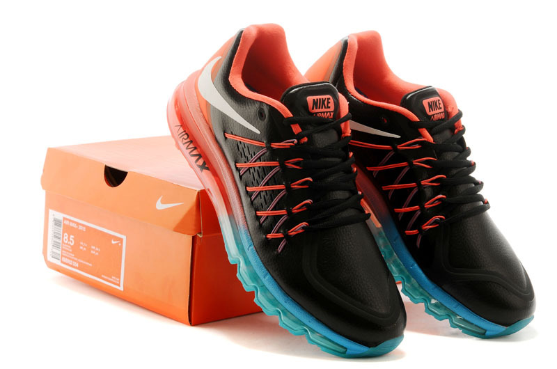 Nike Air Max 2015 Flyline Black Red Blue Shoes
