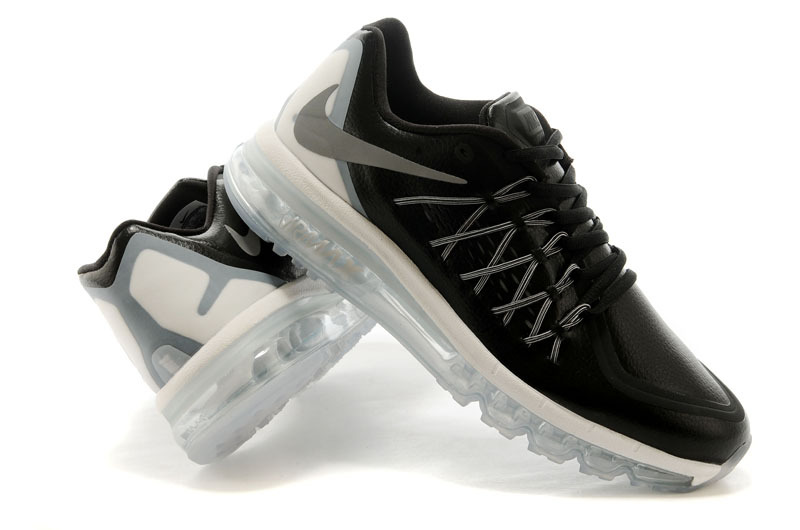 Nike Air Max 2015 Flyline Black White Shoes