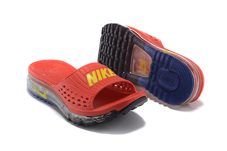 Nike Air Max 2015 Hydro Red Yellow Slipper