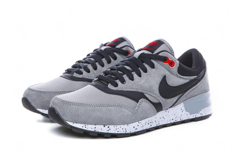 2016 Nike Air Max 87 Retro Grey Black Red