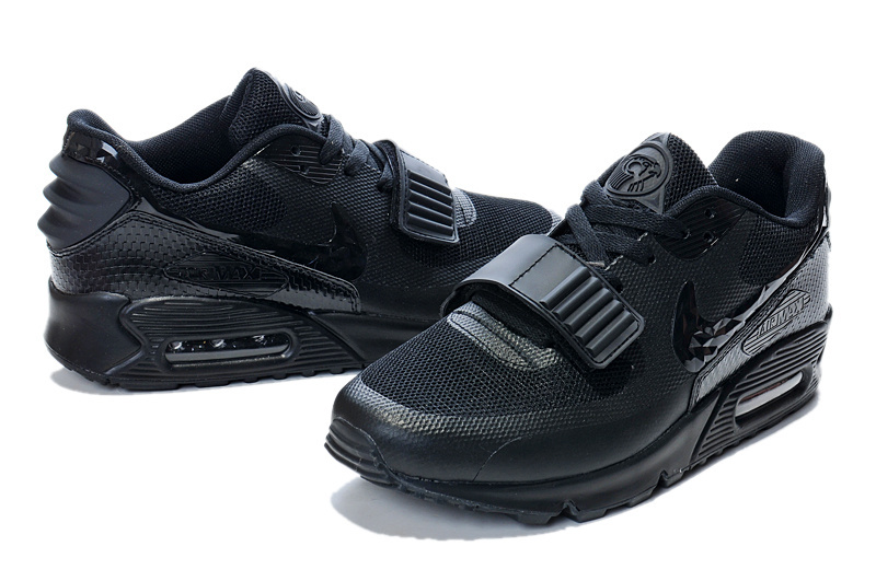 New Nike Air Max 90 Yeezy All Black