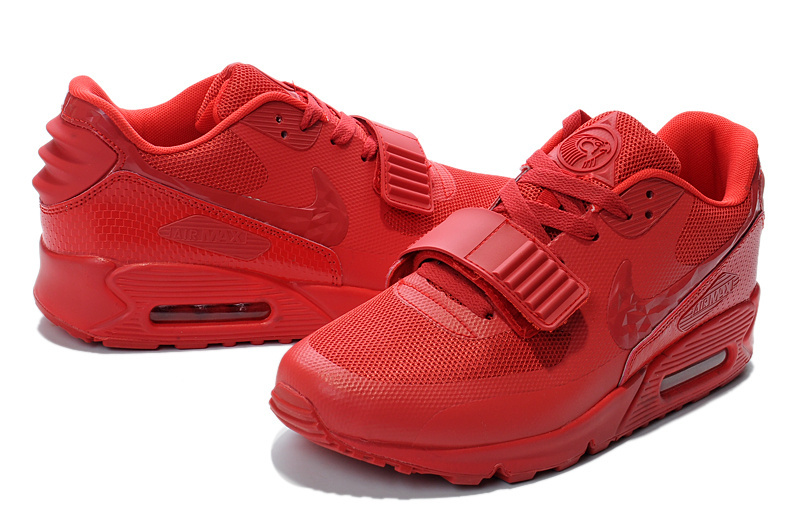 New Nike Air Max 90 Yeezy All Red