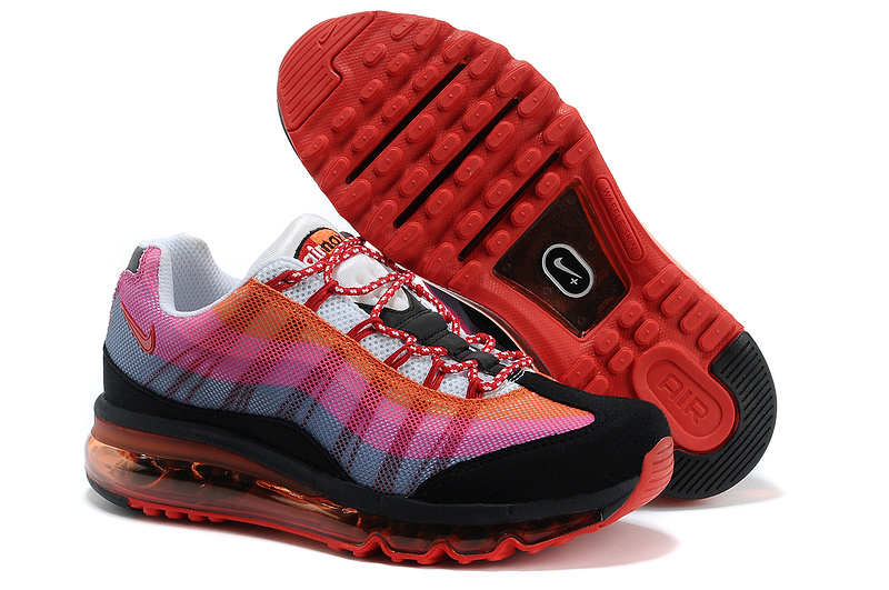 Nike Air Max 95 2013 Red Black Shoes