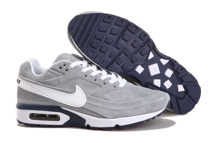 New Nike Air Max BW Suede Grey White
