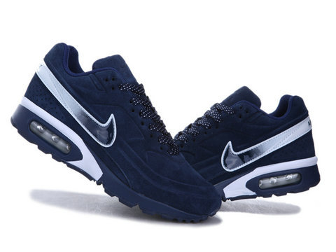 New Nike Air Max BW Suede Royal Blue