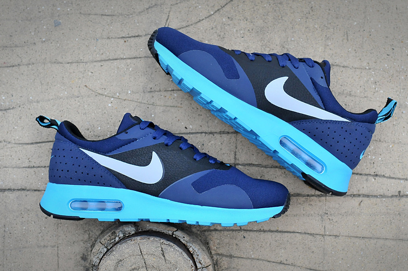 New Nike Air Max Tavas Air Max 90+97 Blue Black