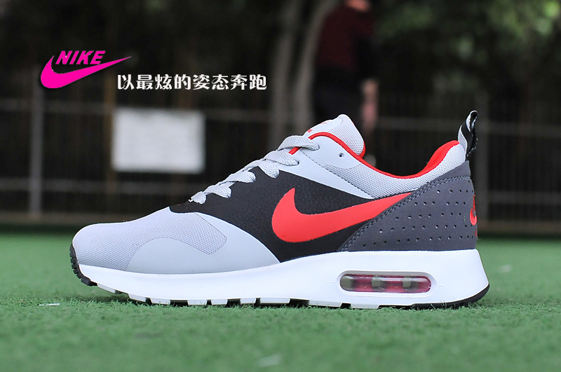 New Nike Air Max Tavas Air Max 90+97 Grey Black Red