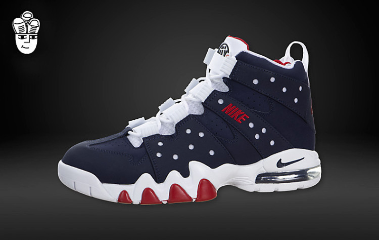 Nike Air Max2 CB 94 Blue White Red Barkley Shoes 305440
