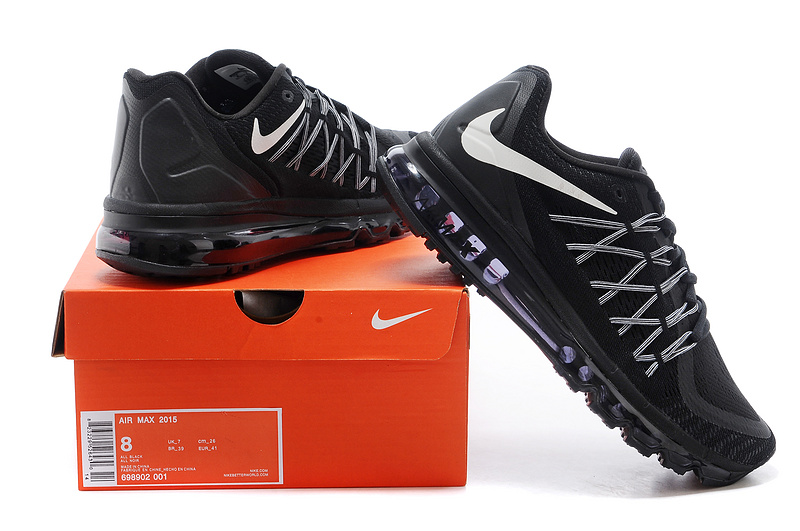 Nike Air Mx 2015 Flywire Black Shoes