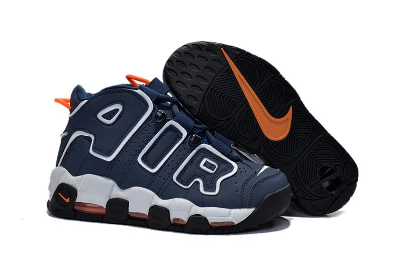 Nike Air Pippen Blue Grey Orange Shoes For Women