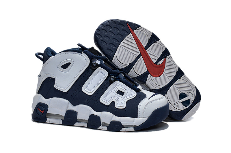 Nike Air Pippen Grey Blue Shoes For Women