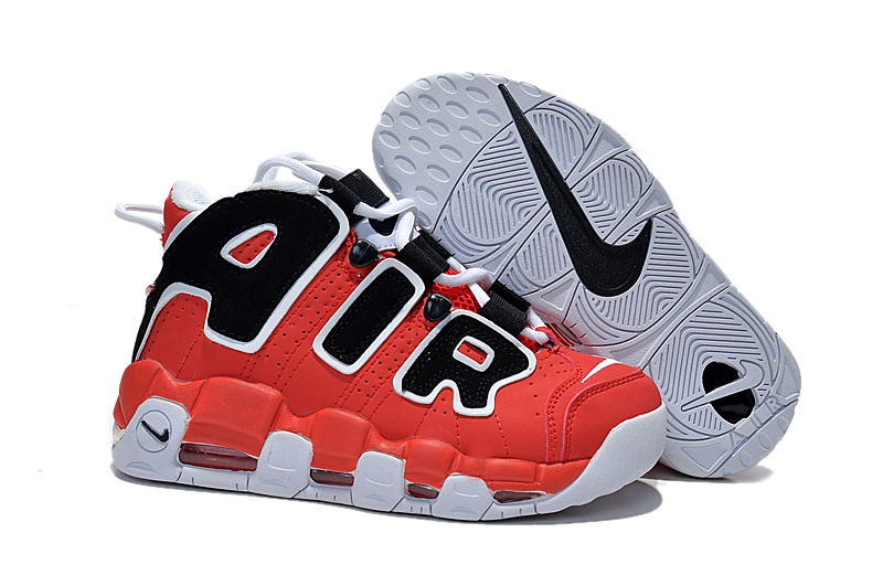 Nike Air Pippen Red Black White Shoes For Women