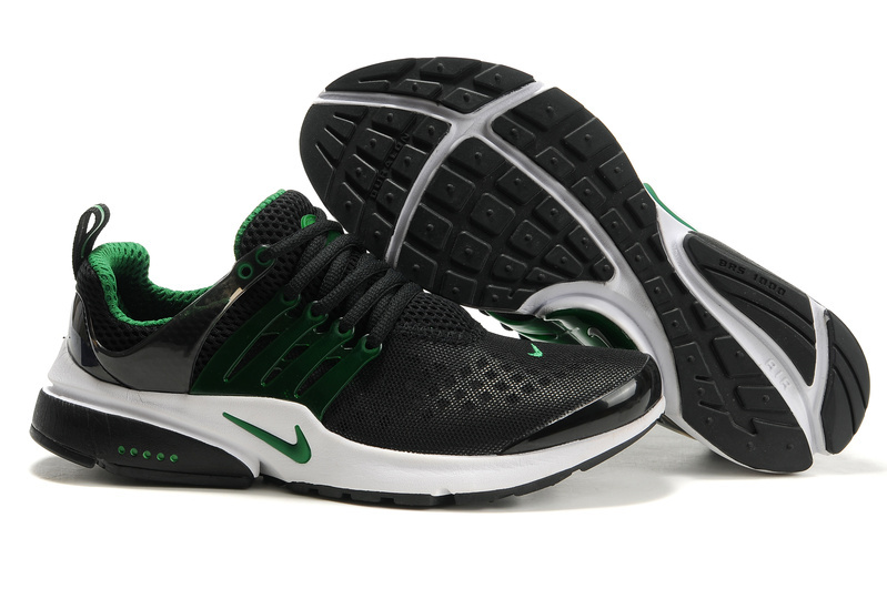 Nike Air Presto 2 Carve Black Green White Shoes With Big Holes