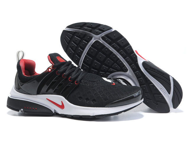 Nike Air Presto 2 Carve Black Red White Shoes With Big Holes