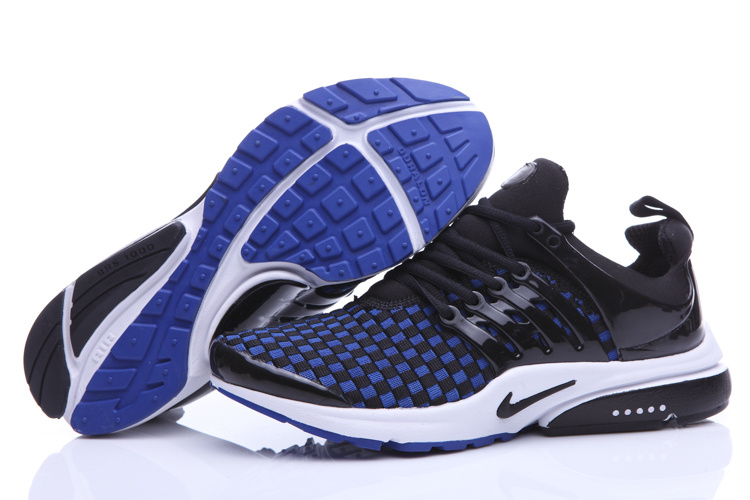 Nike Air Presto Knit Black Blue White Shoes