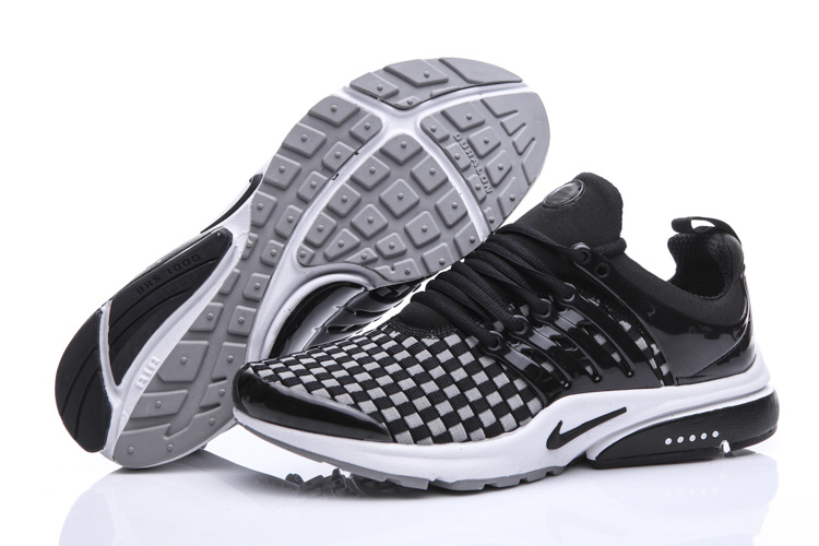 Nike Air Presto Knit Black White Shoes