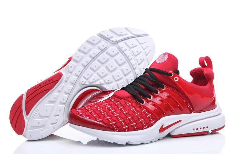 Nike Air Presto Knit Red White Shoes