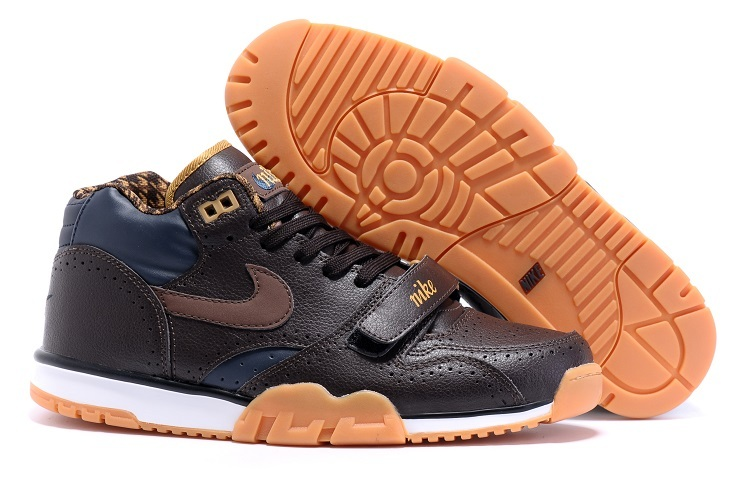 Nike Air Trainer 1 Built in Sole Coffe Orange Shoes