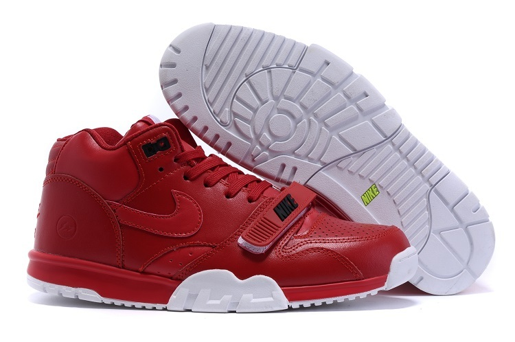 Nike Air Trainer 1 Built in Sole Sandian White Red Shoes