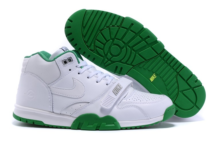 Nike Air Trainer 1 Built in Sole White Green Shoes