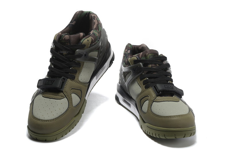 Nike Air Trainer 3 Army Green Shoes