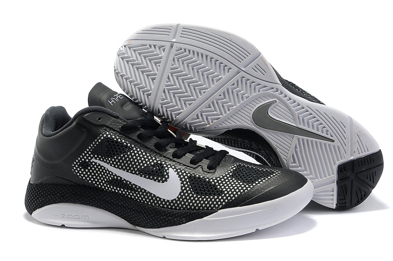 Nike Air Zoom Hyperfuse 2011 Low Black White Shoes