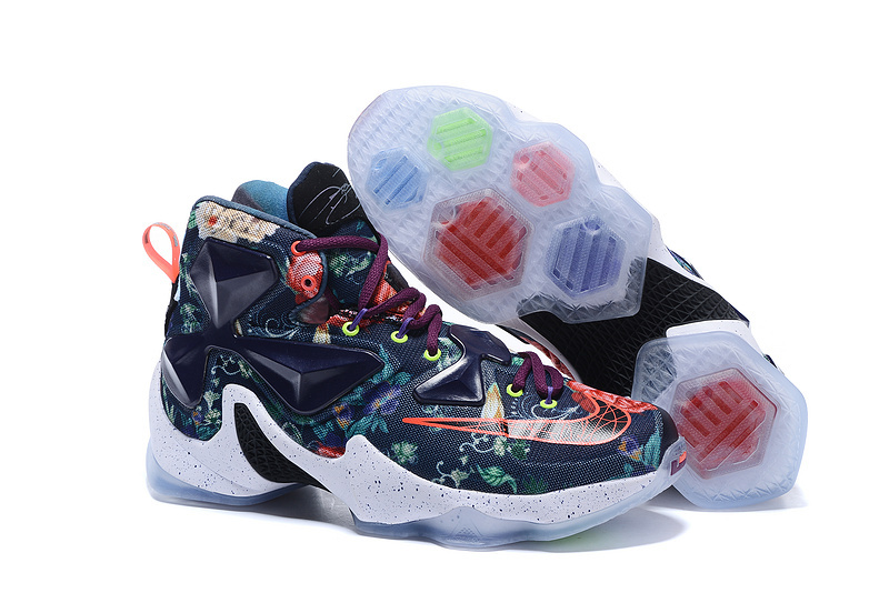 Nike Air Zoom Lebron James 13 Avatar Black Red White Shoes