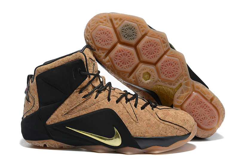 Nike Air Zoom Lebron James 13 Cork Black Shoes