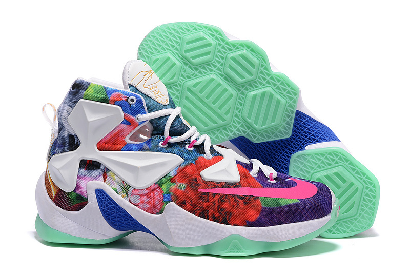 Nike Air Zoom Lebron James 13 Customize Colorful Shoes