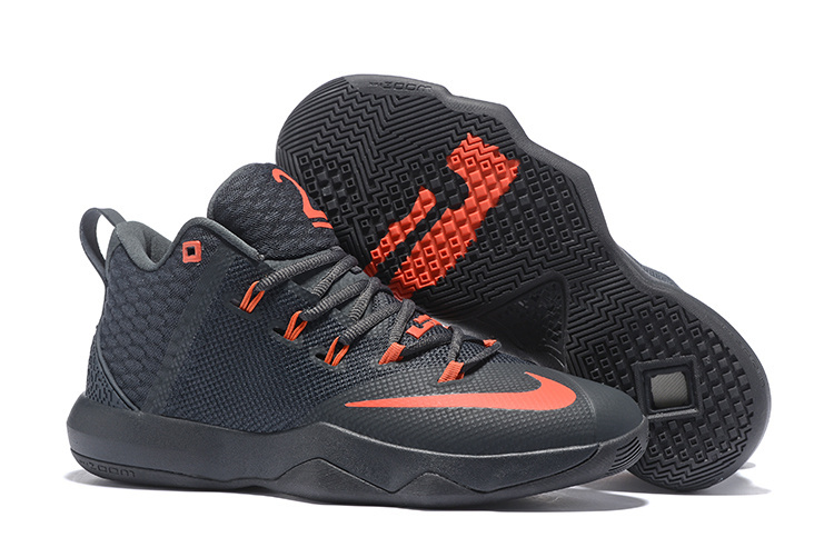 Nike Ambassador IX Basketball Black Orange Shoes