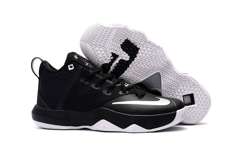 Nike Ambassador IX Basketball Black White Shoes