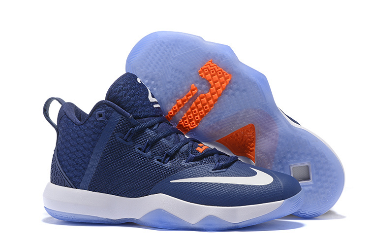 Nike Ambassador IX Basketball Blue White Shoes