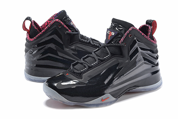 Nike Chuck Posite Black Grey Red Basketball Shoes
