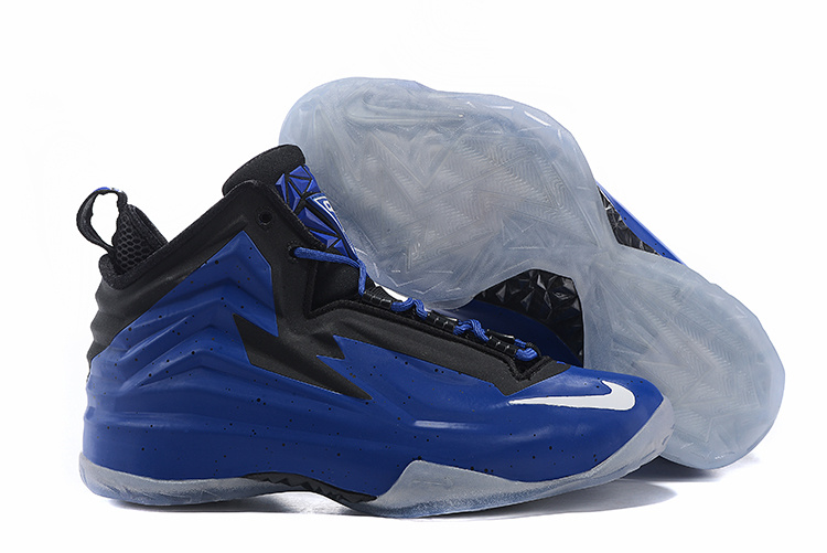 Nike Chuck Posite Blue Black Basketball Shoes